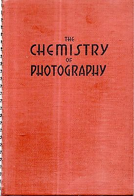 Rare 1940 Chemistry Of Photography Mallinckrodt Illustrated 1St Edition