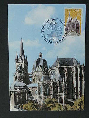 europa Cept 1972 Aachen cathedral maximum card 40731