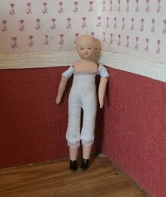 1/12th porcelain dolls house  boy doll from Victoria Hope Dolls