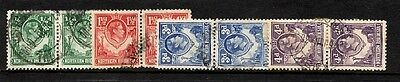 Northern Rhodesia --1938 King George VI issues in pairs