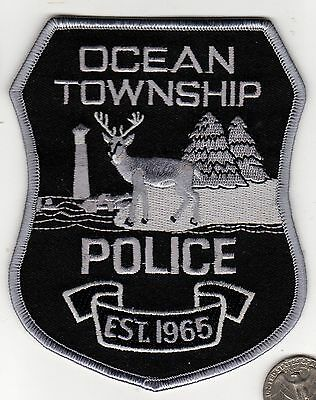 POLICE PATCH POLICE PATCH  OCEAN TOWNSHIP POLICE Officer Cloth Badge Shield