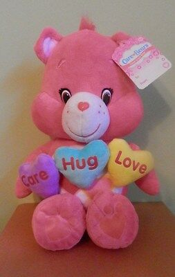 "Care Bear Plus  SPECIAL BEAR FOR YOUR SWEETIE!!    LOVE A LOT 14"" 2016 NWT"