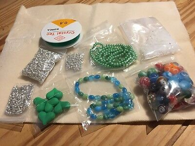 Bundle Of Jewellery Making Goodies From Beads Direct New