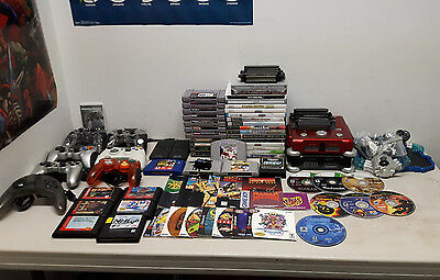 Video Game Lot (Games, Consoles, Controller, Etc.)