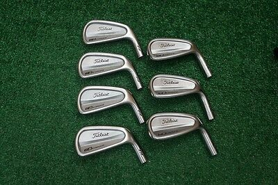 Titleist CB Forged 712  4-PW Iron Set Heads Only 274888