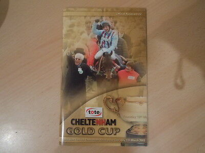 Cheltenham Gold Cup 2003 - Best Mate (2nd Win) - J Culloty