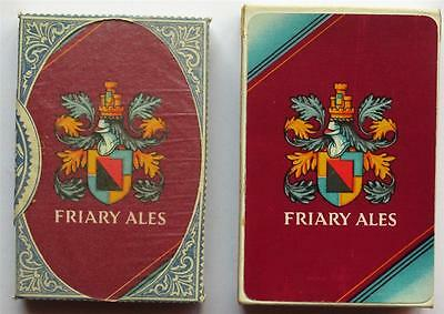 Vintage Friary Ales Tax Wrapped Pack John Waddington Playing Cards