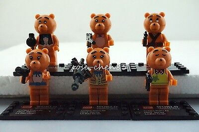 6 Mini Figures The Ted 2 Building Toys Family Guy Blocks 6 Expression #bn6ygbt65