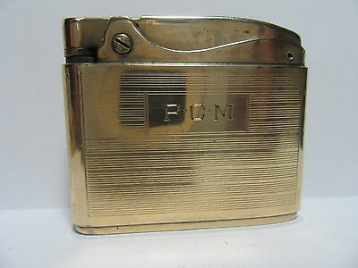 Rare Vintage Ronson Adonis, 14-Carat Gold Filled, Working Cond,Very Nice Lighter