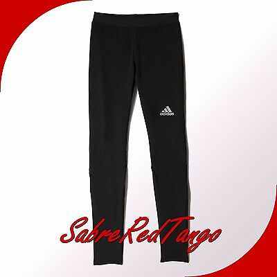 Nwt Adidas Men's Sequencials Climacool Running Tights Pants S10058 Black