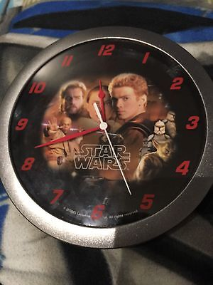 Star Wars Attack Of The Clones Wall Clock