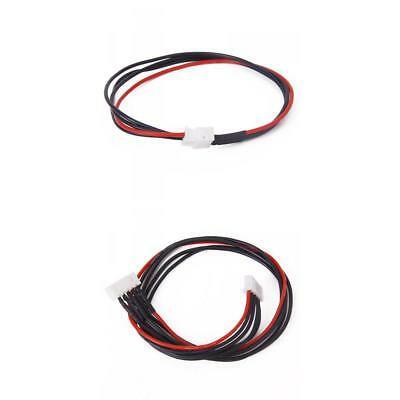 10x JST-XH 4S 30cm + 3S 22cm Lipo Balance Extension Silicone Wire Lead Cable