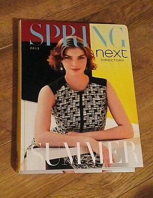 NEXT FASHION DIRECTORY CATALOGUE HARDBACK BOOK SPRING SUMMER 2013 No. 51