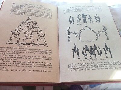 Vintage 1931 Book - Tumbling For Scouts By Browne & Buckingham 1931