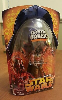 Star Wars Revenge of The Sith TARGET EXCLUSIVE LAVA DARTH VADER & STAR CASE