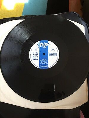 """Noise Factory - The Buzz/imperative Vg+ Orig Breakbeat 12"""" 1991 10% Sale"""