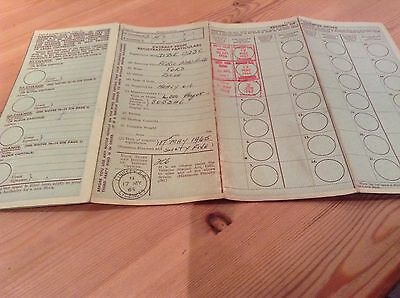 Ford 4000 Old Tractor Log Book