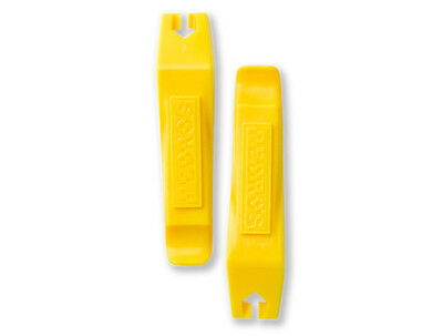 Pair of (2) Pedro's Bicycle Tire / Tube Change Levers Tool Set - Yellow