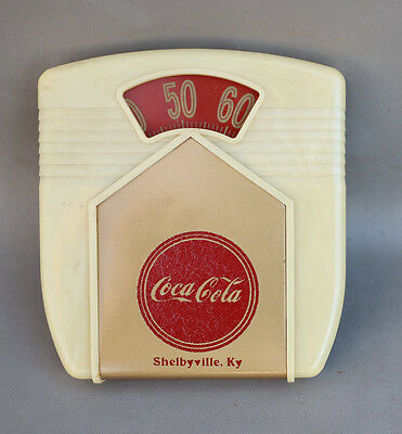 1950s Coca Cola Scale Thermometer From Shelbyville Ky
