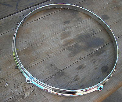 Gretsch Die Cast Tom Hoop 12 inch 5 hole Chrome