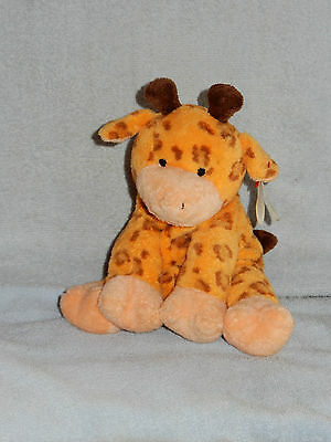 Ty Pluffies TyLux 2004 Towers Giraffe Bean Bag Plush w Tag