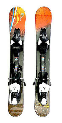 Summit Easy Rider 79cm Skiboards Snowblades with Atomic XTE 7 Release Bindings