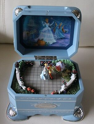 RARE Disney Cinderella's Dance Music Box First issue Ever After collection