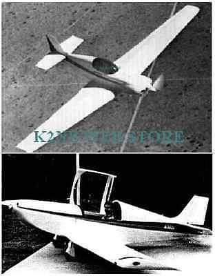 Kr-1 & Kr-2 Experimental Aircraft Plans + Much More - Both On 1 Cd