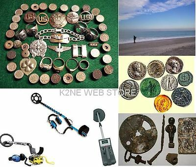 Metal Detectors Plans Guides More On Cd - How To Build - Find Treasure
