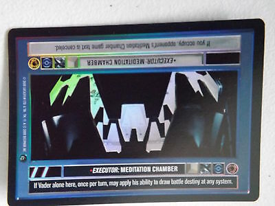 REFLECTIONS II star wars ccg swccg NM//M Meditation Chamber FOIL Executor