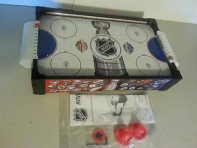 Nhl Table Top Lighted Air Hockey Table Complete In Great Shape