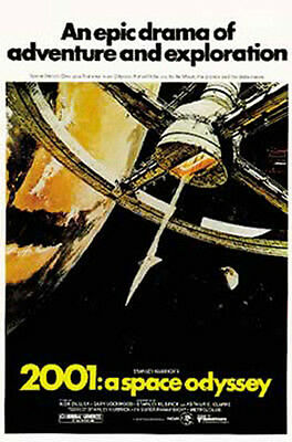 2001: A Space Odyssey - US, Style A - Film Film Poster