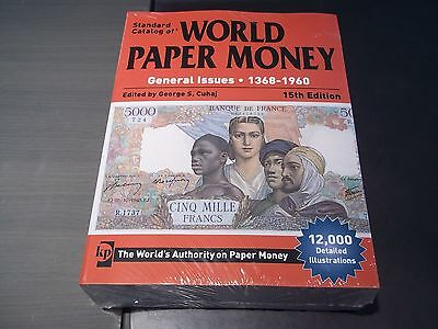 World Paper Money  Katalog  1368-1960 neu 15. Auflage