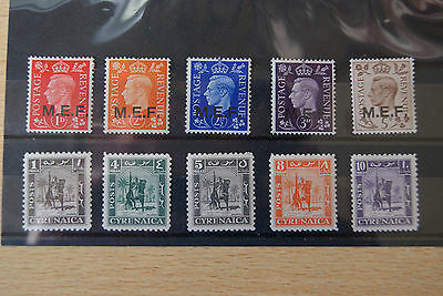 Italian Colonies Stamps. BRITISH OCCUPATION ISSUES. M/MINT.