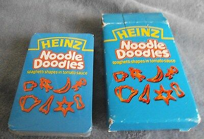 Heinz - NOODLE DOODLES Spaghetti Shapes - Cards Sealed - Snap Happy Families