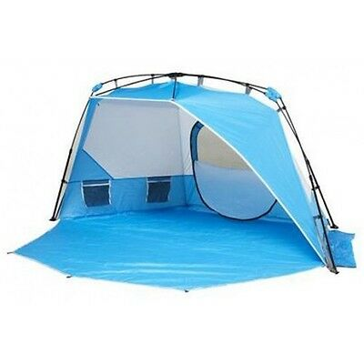Coleman Instant Up Beach Shelter with UV50+ Protection and Rear Window