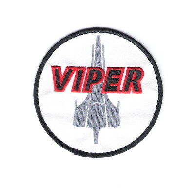 Battlestar Galactica Viper Pilots Shoulder Embroidered Patch Style 2, NEW UNUSED