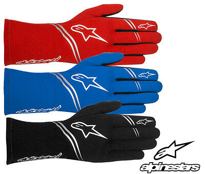 Alpinestars Tech 1 Start Gloves, FIA Approved Aramidic Oval Racing Rally S - XXL