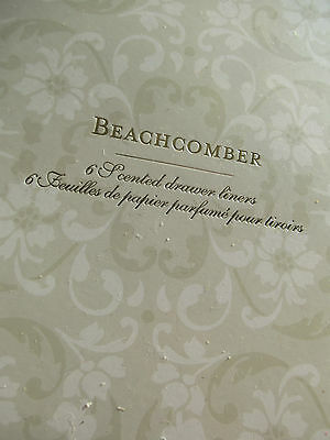 Gorgeous Laura Ashley Beachcomber  Drawer Liners, NEW.