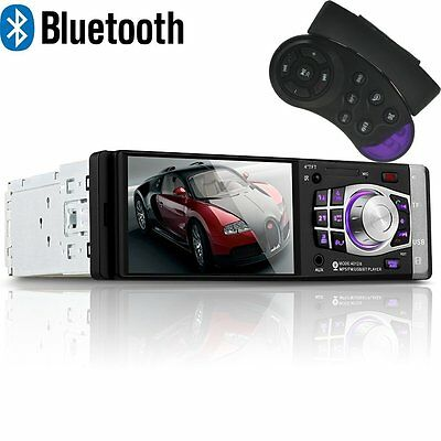 4.1'' Bluetooth TFT Car Radio Stereo Player MP3/MP4/USB/SD/AUX  Wheel Control