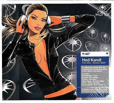 Hed Kandi - The Winter Mark Doyle DJ Mix 2004 Vol.44 NEW 3-CD Best of/House