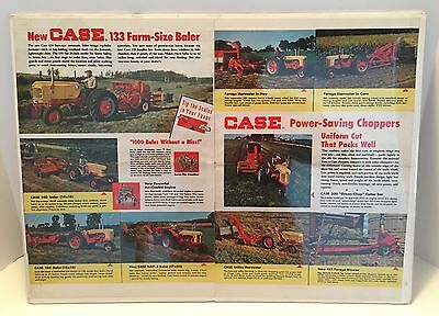 Vintage Case Tractor Advertising Page From Pamphlet