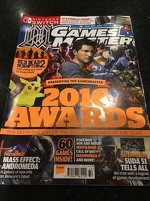Official Games Master Magazine Christmas 2016