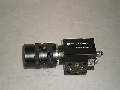 Allen-Bradley 2801-YF Machine Vision Camera Series A, With Lens Free Shipping!