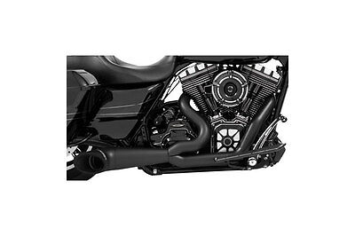 Freedom Performance 2-1 Turnout Exhaust Pitch Black 17-up HD Touring - In stock!