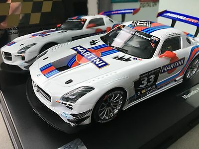 "Carrera Digital 124 23825 Mercedes Benz SLS AMG GT3 ""Martini No. 33"", Hankook"