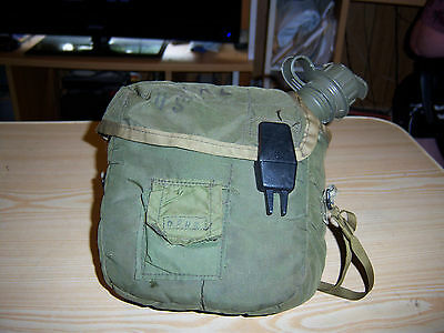 US Sonetronics Collapsible Canteen Bladder 1991 with Insulated Bag