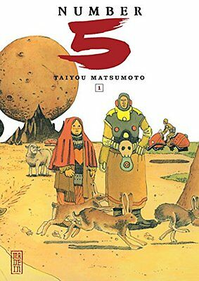 Number 5, tome 1 Taiyou Matsumoto Thibaud Desbief Kana Made in... Francais Book