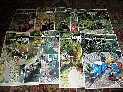 JOB LOT 10 ISSUES  16mm TODAY ASSOCIATION OF 16mm NARROW GAUGE RAILWAY MODELLERS