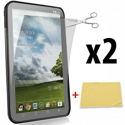 x2pcs 7 inch Clear Screen Protector with Grid for PDA Mobile Phone GPS 152x91mm